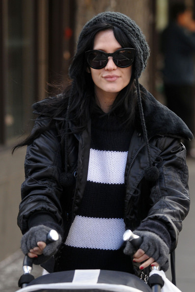 More Pics of Ashlee Simpson Pompom Beanie (3 of 11) - Ashlee Simpson Lookbook - StyleBistro
