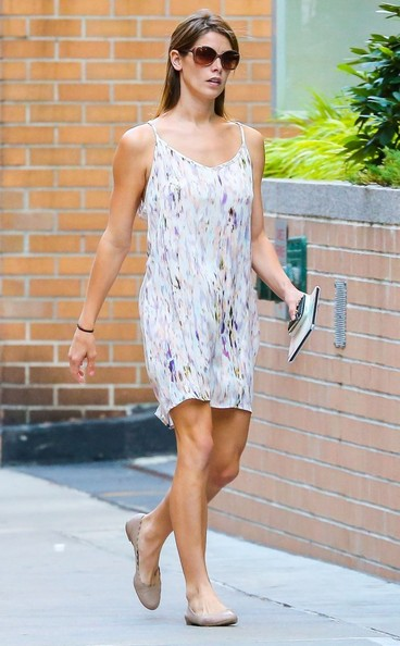 Ashley Greene Ballet Flats