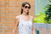 Ashley Greene Print Dress