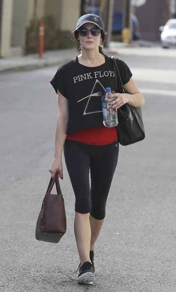 Ashley Greene Crop Top