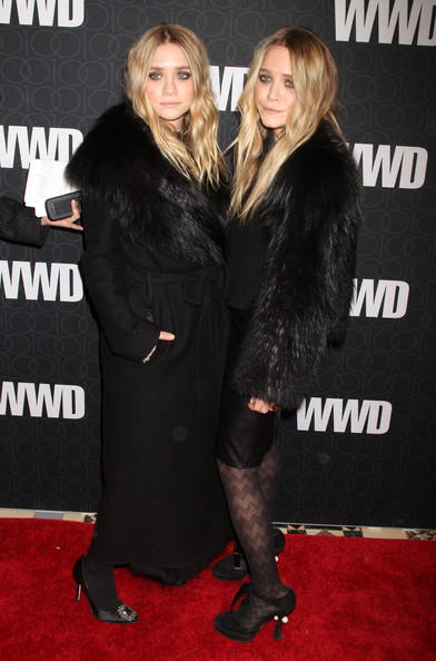 Ashley Olsen Fur Coat