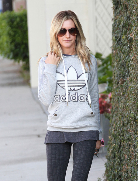 More Pics of Ashley Tisdale Studded Boots (4 of 8) - Ashley Tisdale Lookbook - StyleBistro