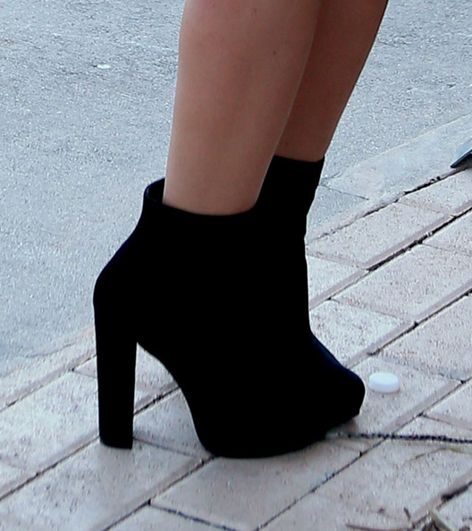 More Pics of Audrina Patridge Ankle Boots (1 of 33) - Audrina Patridge Lookbook - StyleBistro