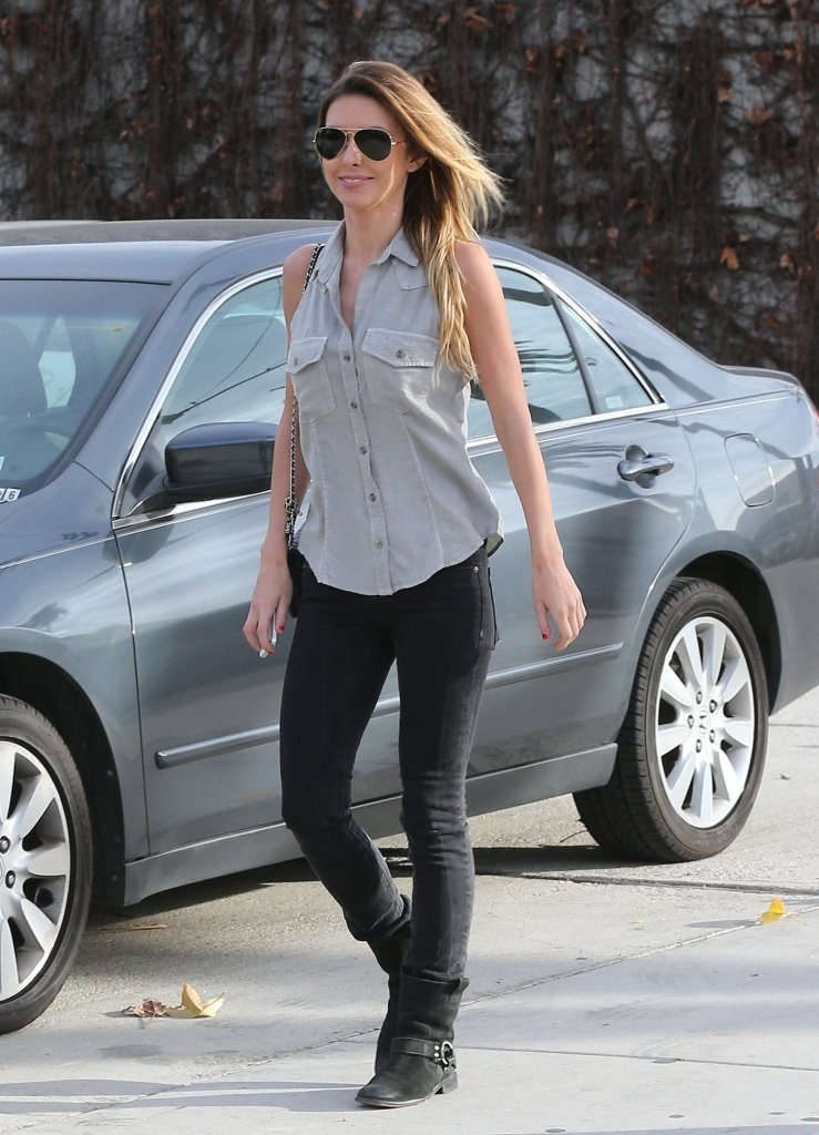 Audrina Patridge Visits the Andy LeCompte Salon