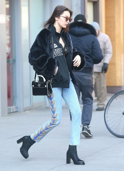 Bella Hadid Ankle Boots