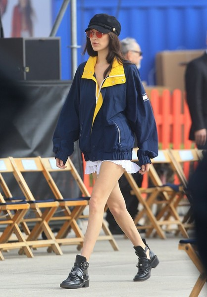Bella Hadid Oversized Jacket
