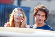 Bella Thorne went hippie-chic with these round sunnies by Sunday Somewhere.