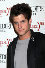 Jared Followill sported anime hair at the Belvedere Red launch party.