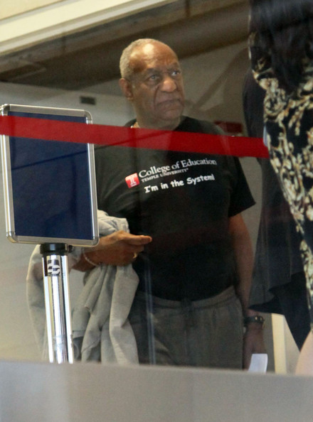 BIll Cosby Departing On A Flight At LAX