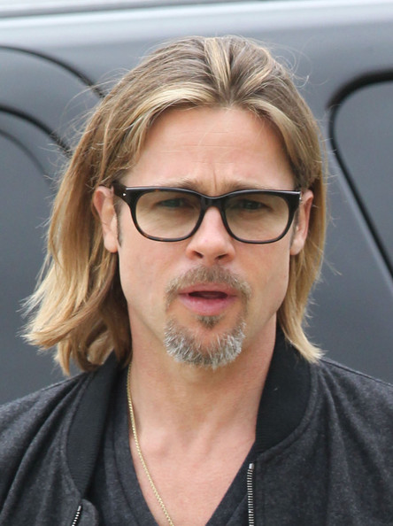 More Pics of Brad Pitt Bomber Jacket (3 of 26) - Brad Pitt Lookbook - StyleBistro