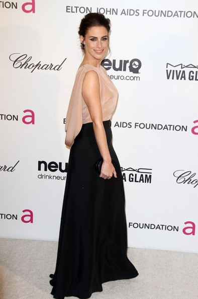 More Pics of Jessica Lowndes Evening Dress (1 of 5) - Dresses & Skirts Lookbook - StyleBistro