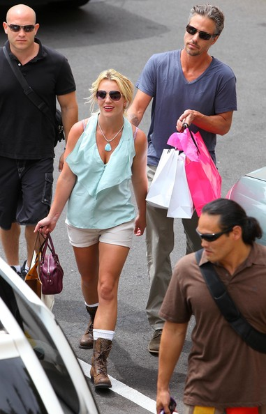 More Pics of Britney Spears Combat Boots (1 of 28) - Britney Spears Lookbook - StyleBistro