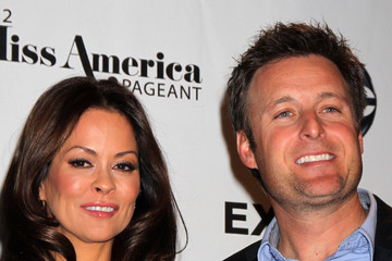 Brooke Burke Chris Harrison The 2012 Miss America Pageant Co-Host Press Conference