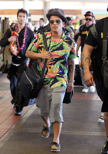 Bruno Mars Nylon Suitcase