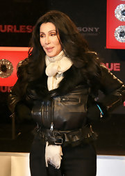 Cher was dressed surprisingly practically for a cold winter day in Berlin.