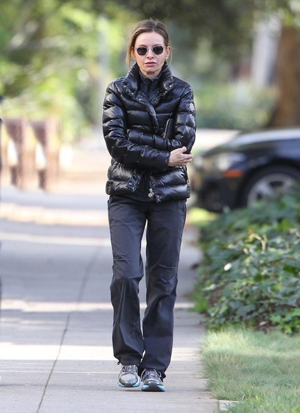 Calista Flockhart Puffa Jacket