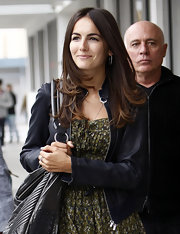 Camilla Belle's long brunette locks blew in the wind as she walked down the streets of Beverly Hills.