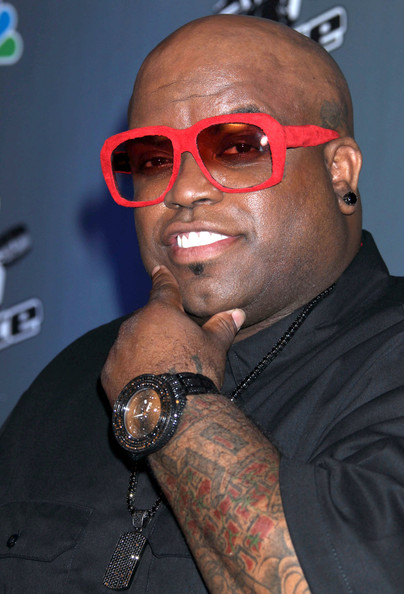 Cee-Lo Green Square Sunglasses