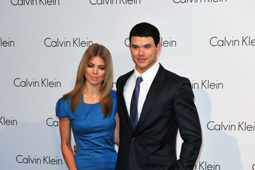 AnnaLynne McCord Kellan Lutz Celebrities Arriving At Calvin Klein Fashion Show During MBFW