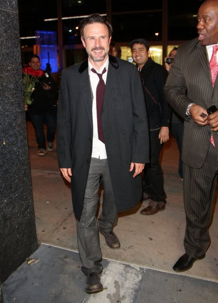 More Pics of David Arquette Evening Coat (1 of 6) - David Arquette Lookbook - StyleBistro