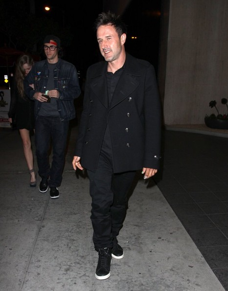 More Pics of David Arquette Pea Coat (1 of 4) - David Arquette Lookbook - StyleBistro