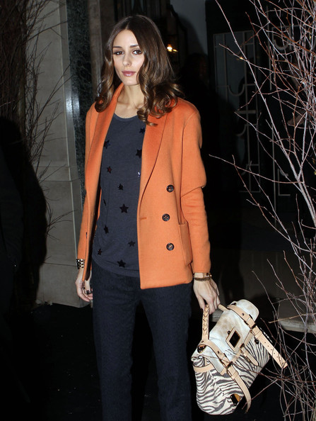 More Pics of Olivia Palermo Buckled Purse (1 of 5) - Olivia Palermo Lookbook - StyleBistro