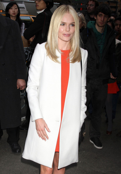 More Pics of Kate Bosworth Wool Coat (1 of 8) - Kate Bosworth Lookbook - StyleBistro