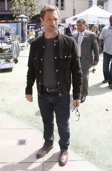 More Pics of Aaron Eckhart Fitted Jacket (1 of 24) - Aaron Eckhart Lookbook - StyleBistro