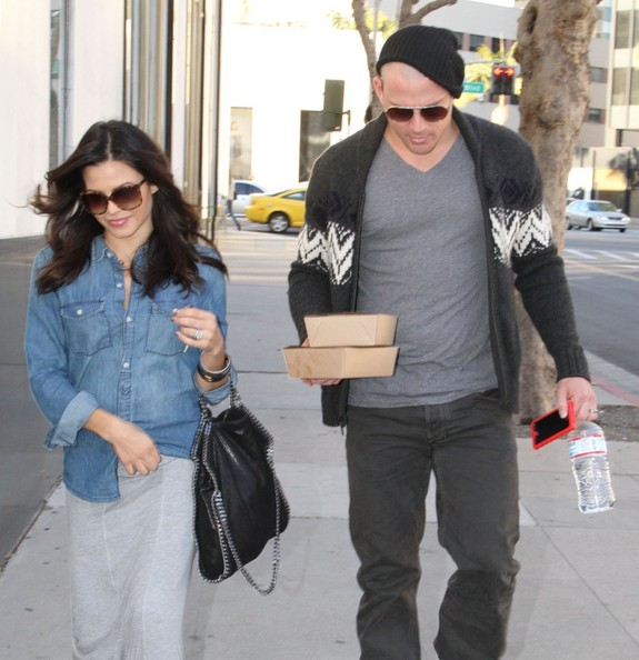 Channing Tatum and Jenna Dewan Out For Lunch In Beverly Hills