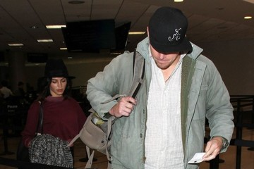 Channing Tatum Jenna Dewan-Tatum Jenna Dewan-Tatum and Channing Tatum Catch a Flight at LAX