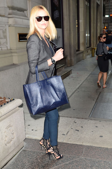 Charlize Theron Oversized Tote