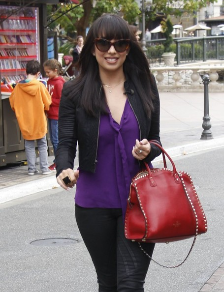 Cheryl Burke Leather Tote