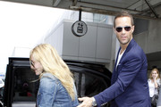 Chris Diamantopoulos Aviator Sunglasses