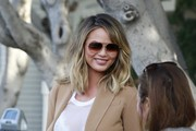Chrissy Teigen Aviator Sunglasses
