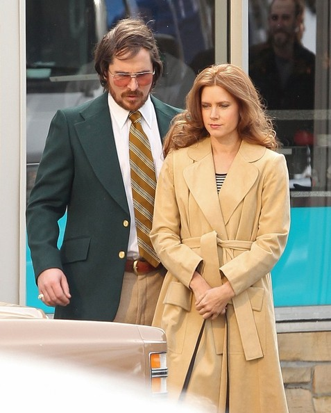 Amy Adams and Christian Bale Film 'Abscam'