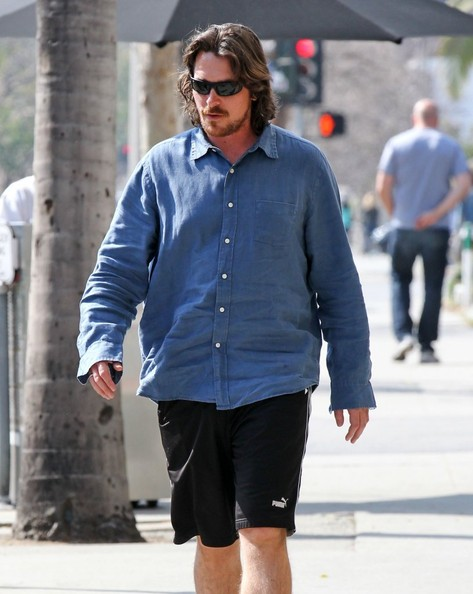 More Pics of Christian Bale Button Down Shirt (4 of 13) - Christian Bale Lookbook - StyleBistro