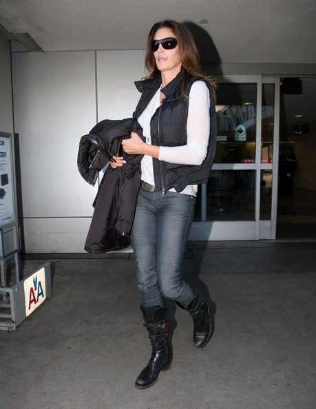 More Pics of Cindy Crawford Vest (1 of 11) - Cindy Crawford Lookbook - StyleBistro