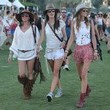 Alessandra and Friends in Leggy Outfits