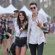 Shenae Grimes in Lace and Torn Shorts