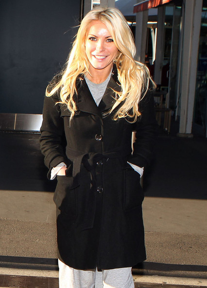 Crystal Harris Trenchcoat