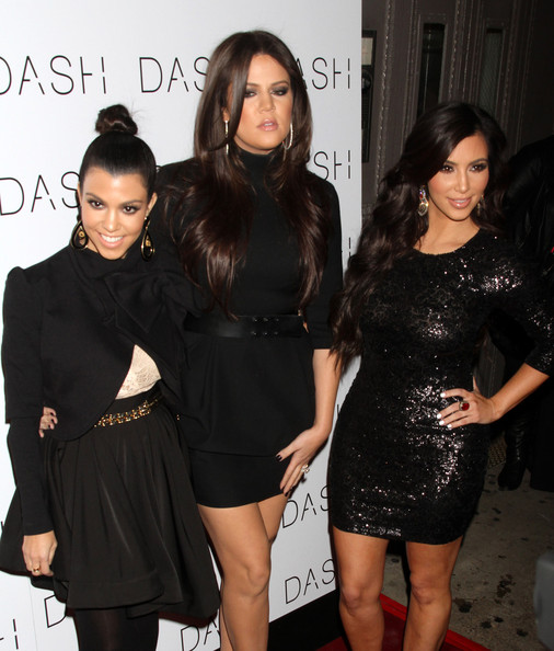 Kourtney+Kardashian in The DASH New York Store Opening