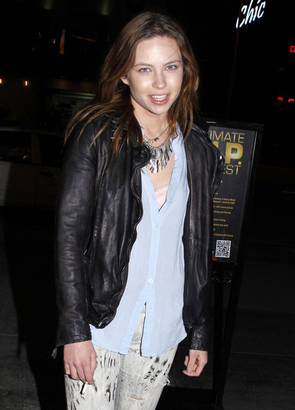 Daveigh Chase Leather Jacket