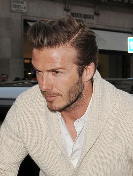 More Pics of David Beckham Cardigan (8 of 8) - David Beckham Lookbook - StyleBistro