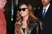 Demi Lovato Rocks Skinny Jeans in NYC