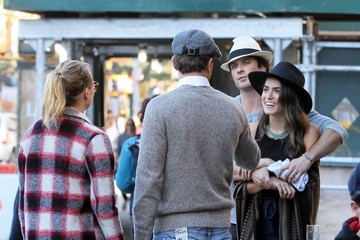 Diane Kruger Joshua Jackson Ian Somerhalder and Nikki Reed Out and About in NYC