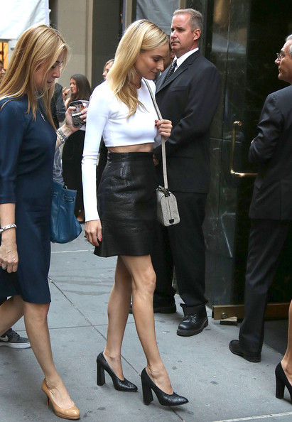 More Pics of Diane Kruger Crop Top (1 of 4) - Diane Kruger Lookbook - StyleBistro
