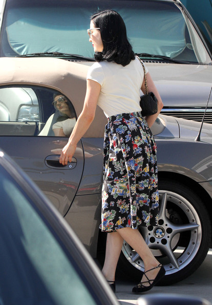 More Pics of Dita Von Teese Quilted Leather Bag (1 of 14) - Dita Von Teese Lookbook - StyleBistro