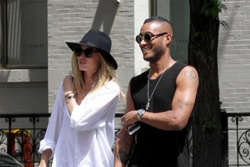 Doutzen Kroes Sunnery James Doutzen Kroes And Sunnery James Stroll Through SOHO