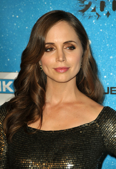 Eliza Dushku Dangling Gemstone Earrings