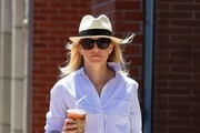 Elizabeth Banks Straw Hat